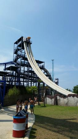 Caneva - The Aquapark: Stukas boom