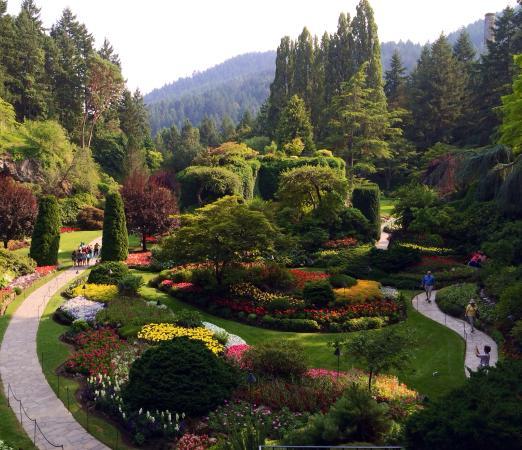 A Fantastic Garden Photo De The Butchart Gardens Central Saanich Tripadvisor