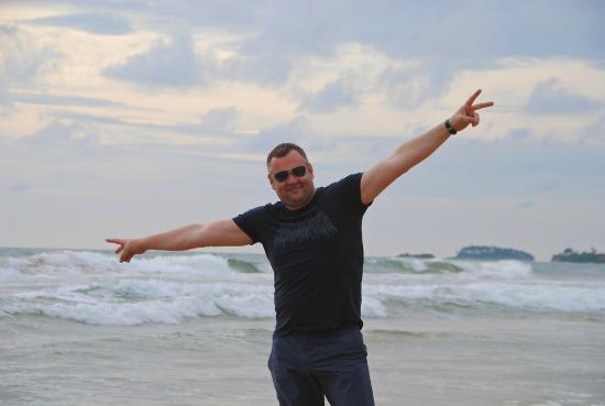 Bentota, Sri Lanka: океан!!!
