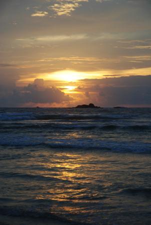Bentota, Sri Lanka: океан