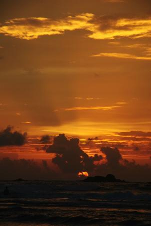 Bentota, Sri Lanka: закат!!!