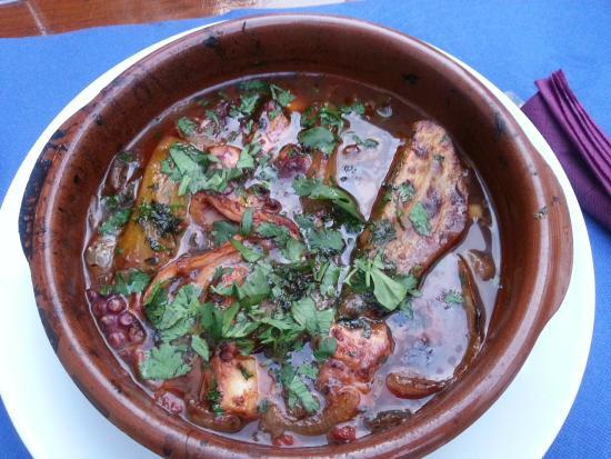 terrina de polvo com batata doce (octopus and sweet potato)