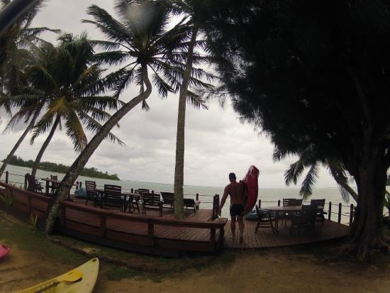 Muri Beachcomber: View