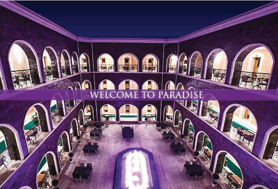 Inner Yard Picture Of Qafqaz Karvansaray Hotel Qabala Tripadvisor