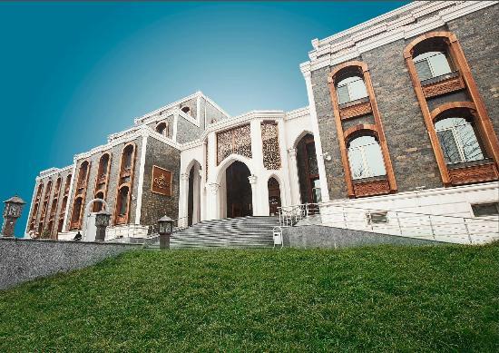 Building Front Side Picture Of Qafqaz Karvansaray Hotel Qabala Tripadvisor