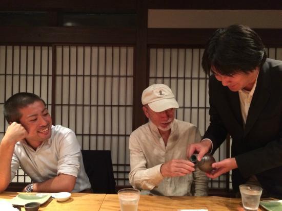 Tsukijinakashima: 友人たちと