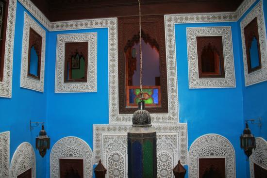 Riad Hiba Meknes: salle principale