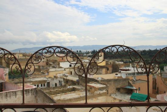 Riad Hiba Meknes: La vue / terrasse