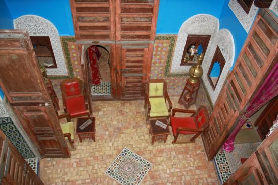 Riad Hiba Meknes: l'entrée