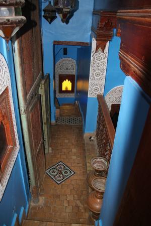 Riad Hiba Meknes: couloir
