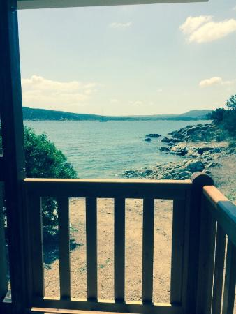 Isola dei Gabbiani - Land of Water: Dal bungalow