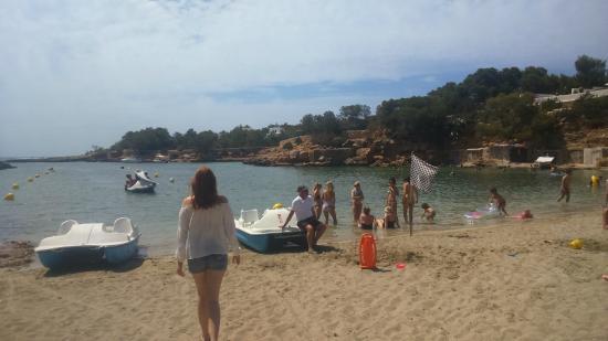 Fiesta Hotel Tanit: Private Beach