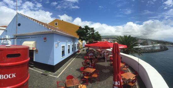 O Pirata Gastropub: Amazing views from Pirata overlook Angra and Mont Brazil