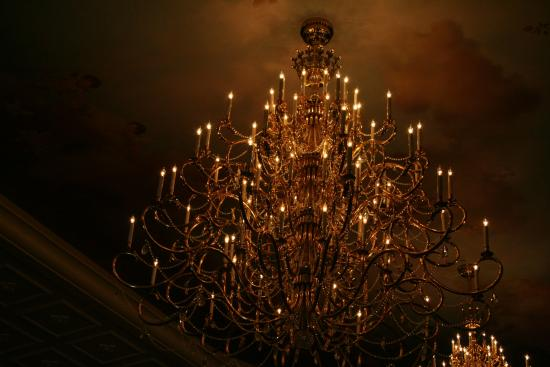 The biggest chandelier inside the picture of be our guest orlando be our guest the biggest chandelier inside the aloadofball Gallery