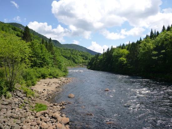 Parc national de la Jacques-Cartier: Prise du Pont Blanc au KM 18