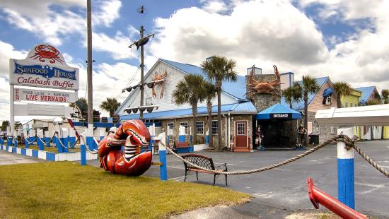 Great Food Live Mermaids Review Of Seafood House Surfside Beach Sc Tripadvisor