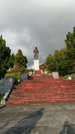 Pulau Nusalaut, Ινδονησία: Monumen Martha Christina Tiahahu