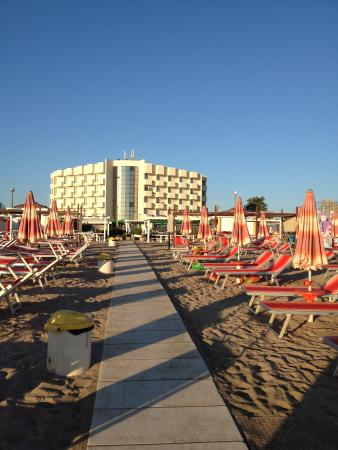 Residence Imperial: vu de la plage