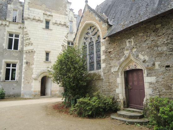 Chateau de Montriou : The chapel next to the chateau is worth a visit.