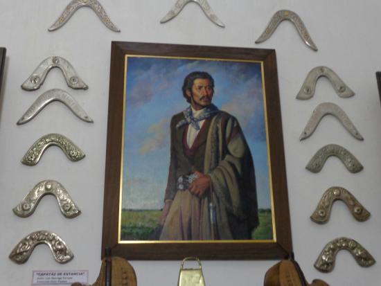 Museo Municipal Casa de Delio Panizza: Capataz de Estancia: Pintura de Luis G. Cerrudo