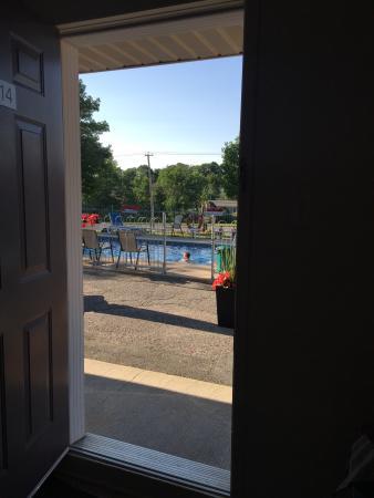 Motel & Camping Etchemin : Nice pool