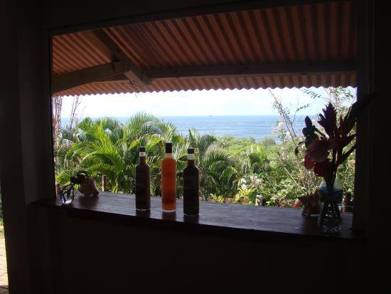 Residence Oceane Hotel: bar donnant sur la terrasse avec sa magnifique vue
