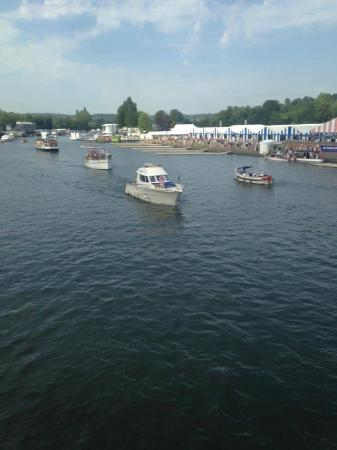 Blackfeather Boat Charter: Blackfeather Boat at Henley Regatta