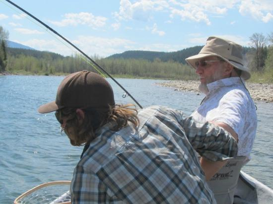 Great bear wilderness fly fishing trip picture of for Best fly fishing raft