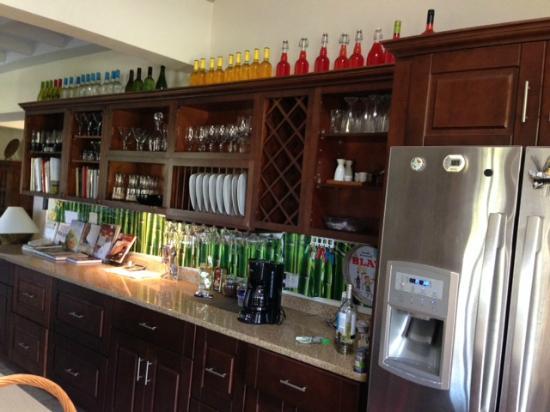 Villa Touloulou: Chris's awesome kitchen!