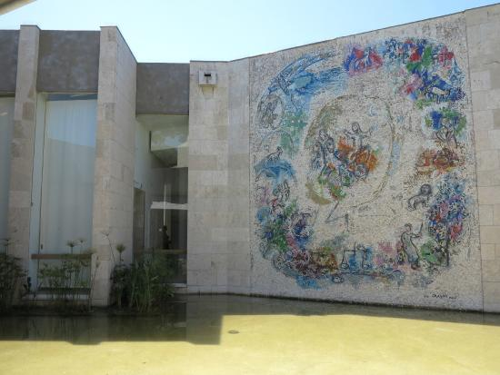 Le Prophète Elie - Picture of Musee National Marc Chagall ... Chagall Museum