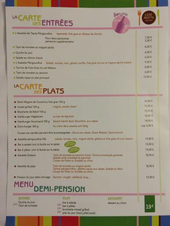 L Offre Du Restaurant Interne Picture Of Ibis Styles Perigueux