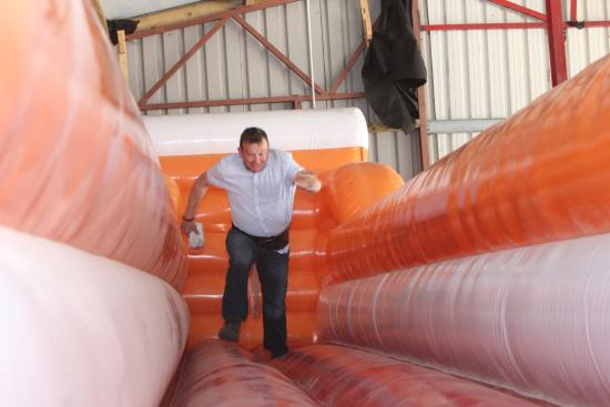 Todds Leap Activity Centre: Run Sodie Run on Todd's Leap Bungie Run
