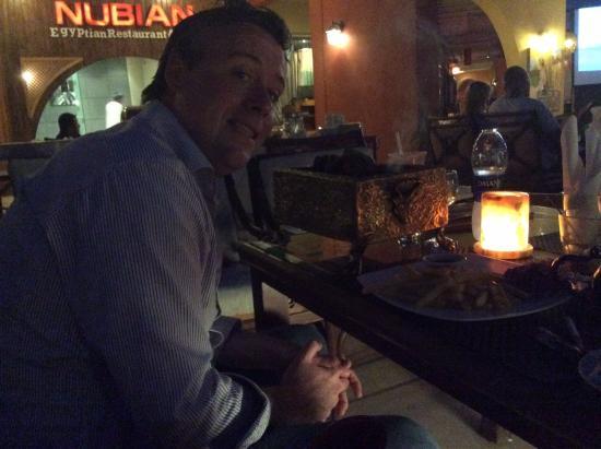 Nubian Cafe & Restaurant: Yummy food!
