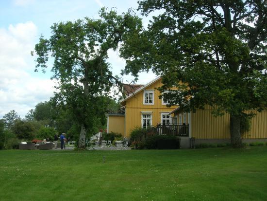 Toftaholm Herrgard Hotel: Baksidan