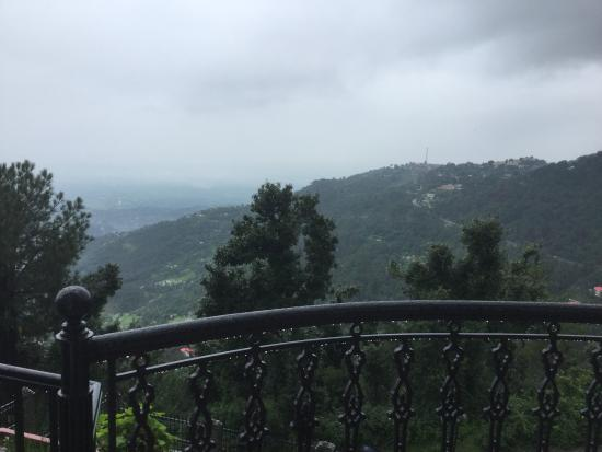 Horizon Villa - South: Valley view and approaching storm