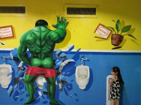 Ciudad de Phuket, Tailandia: Phuket Trickeye Museum