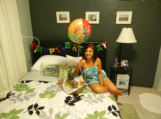 Coqui del Mar Guest House: Birthday Decoration