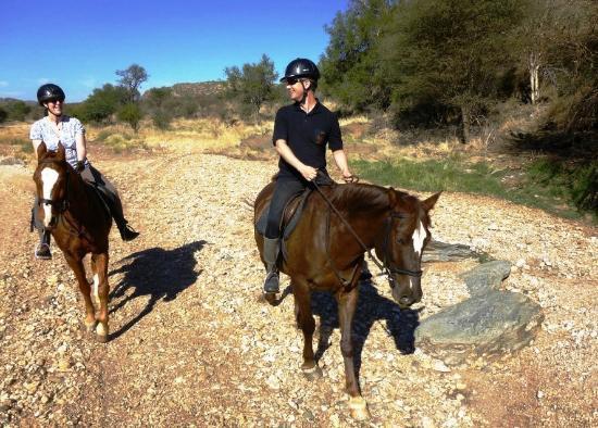 Equitrails Namibia: Ausritt durchs Revier