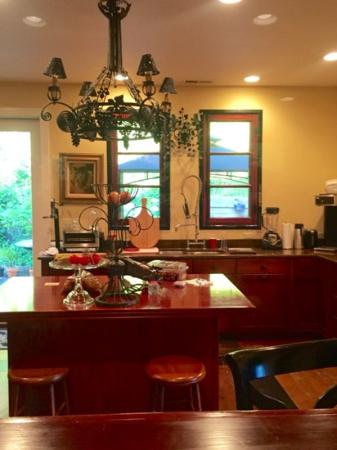 Cathlamet, วอชิงตัน: kitchen