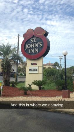 St. John's Inn: Where we really stayed....