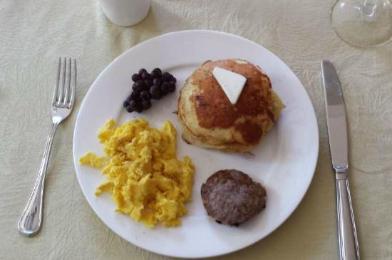 Sample Breakfast at the Inn at Westwood Farm