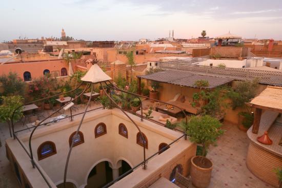 Riad L'Emir : Vue Terrasse / Médina Marrakech