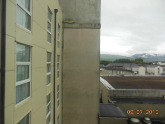 Brandon Hotel: uitzicht kamer