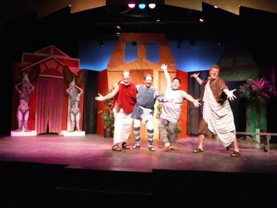 Hazelhurst, WI: A Funny Thing Happened on the Way to the Forum