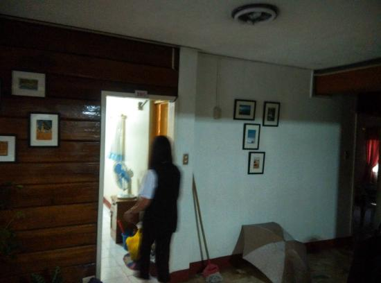 AJ's Pension House Inn: arrogant/rude housekeeping staff