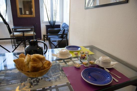 Hotel Lutia: breakfast room