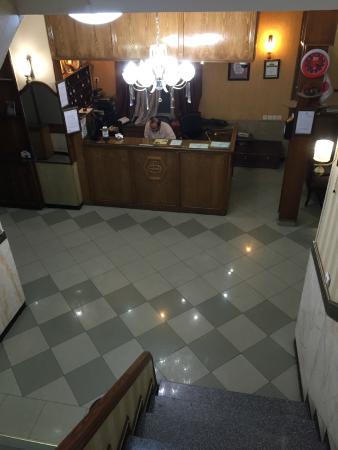 Firouzeh Hotel: Reception