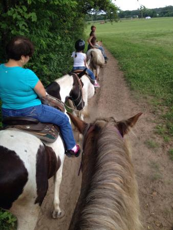 Red Ridge Riding Stable: Had a great day!