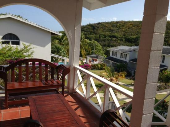 Dickenson Bay Cottages: View from the property manager's office