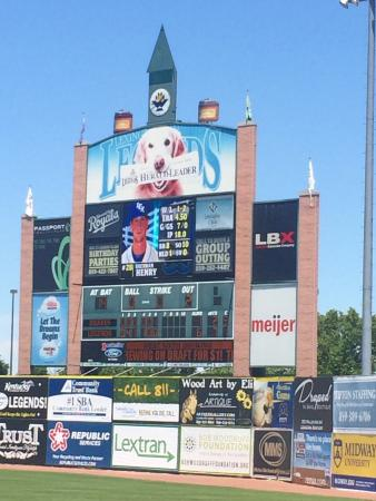 Whitaker Bank Ballpark: Supporting our hometown's minor league team.